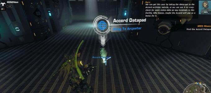 firefall data pad1