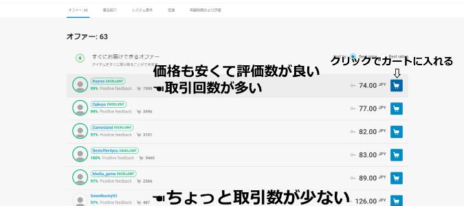 G2A.COMでの買い方1