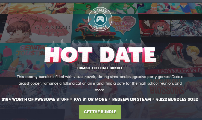 Humble HOT DATE Bundle ロゴ画像